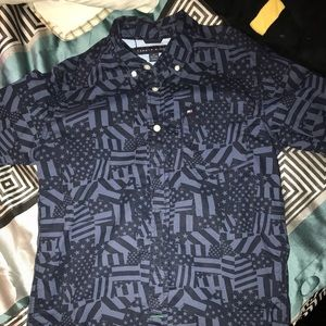Big boys dress shirt long sleeve
